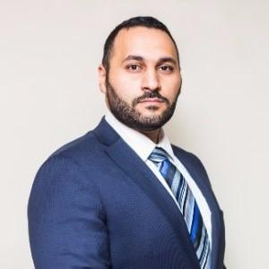 Sherif Rizk, Arab lawyer in Canada