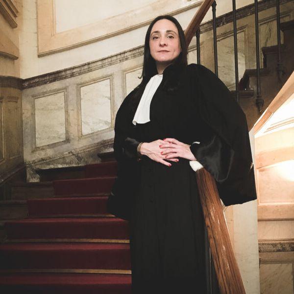 Julia Grégoire, French attorney in USA