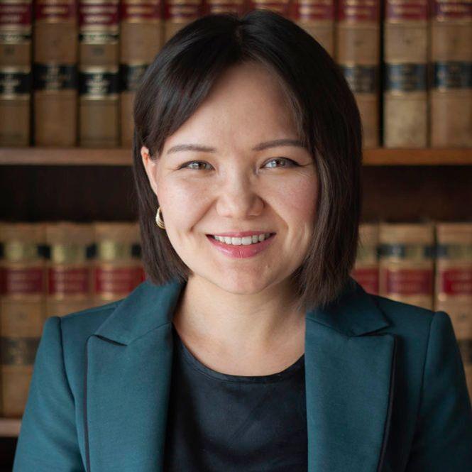 Aliya Alisheva, Kazakh lawyer in USA