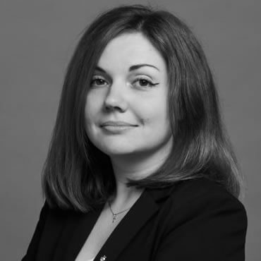 Anna Chaykina, woman lawyer in Russia