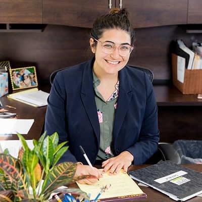 Jackie Desana, woman lawyer in Chicago Illinois