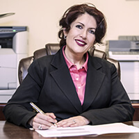 Marjan Kasra, woman lawyer in Connecticut